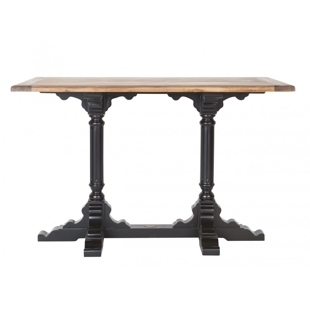Pied de table bistrot best ancien guridon de bistrot pied - Table bistrot marbre ronde pied fonte ...