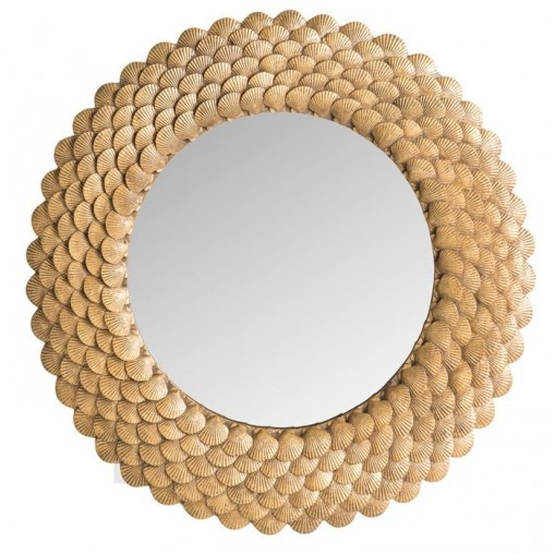 Miroir coquillages