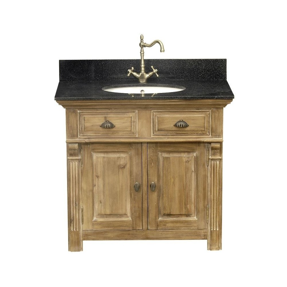 meuble lavabo 1 vasque signature. Black Bedroom Furniture Sets. Home Design Ideas