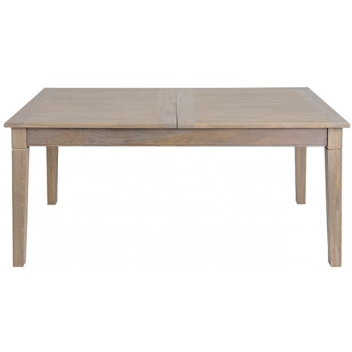Table rectangle en 180 + 1 allonge papillon