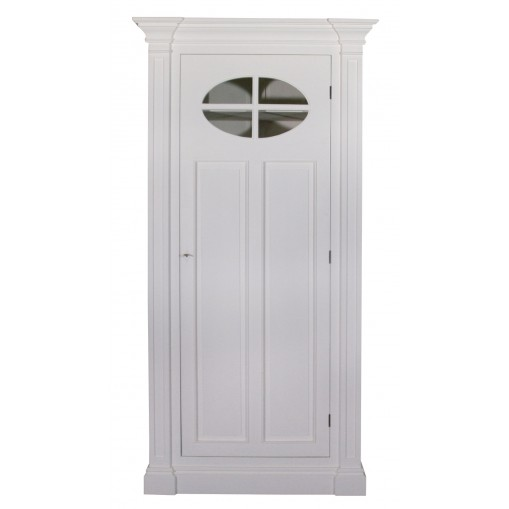 Rivoli Single Tall wardrobe with window