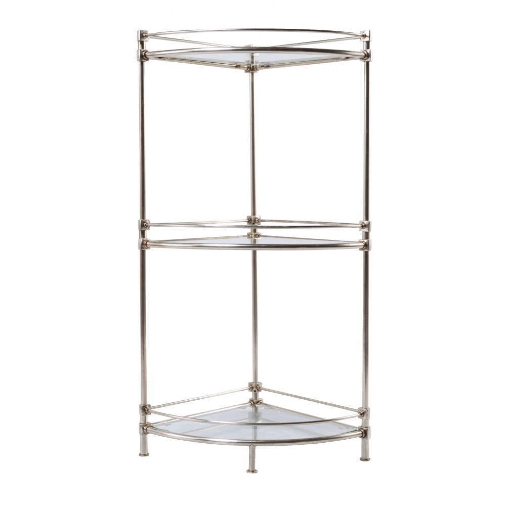 Etag re d 39 angle signature for Etagere d angle salle de bain