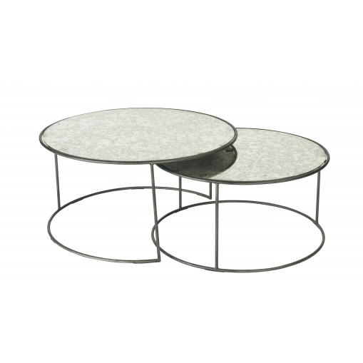 Set de 2 tables gigognes