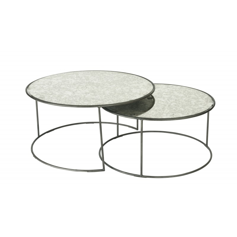 set de 2 tables gigognes signature. Black Bedroom Furniture Sets. Home Design Ideas