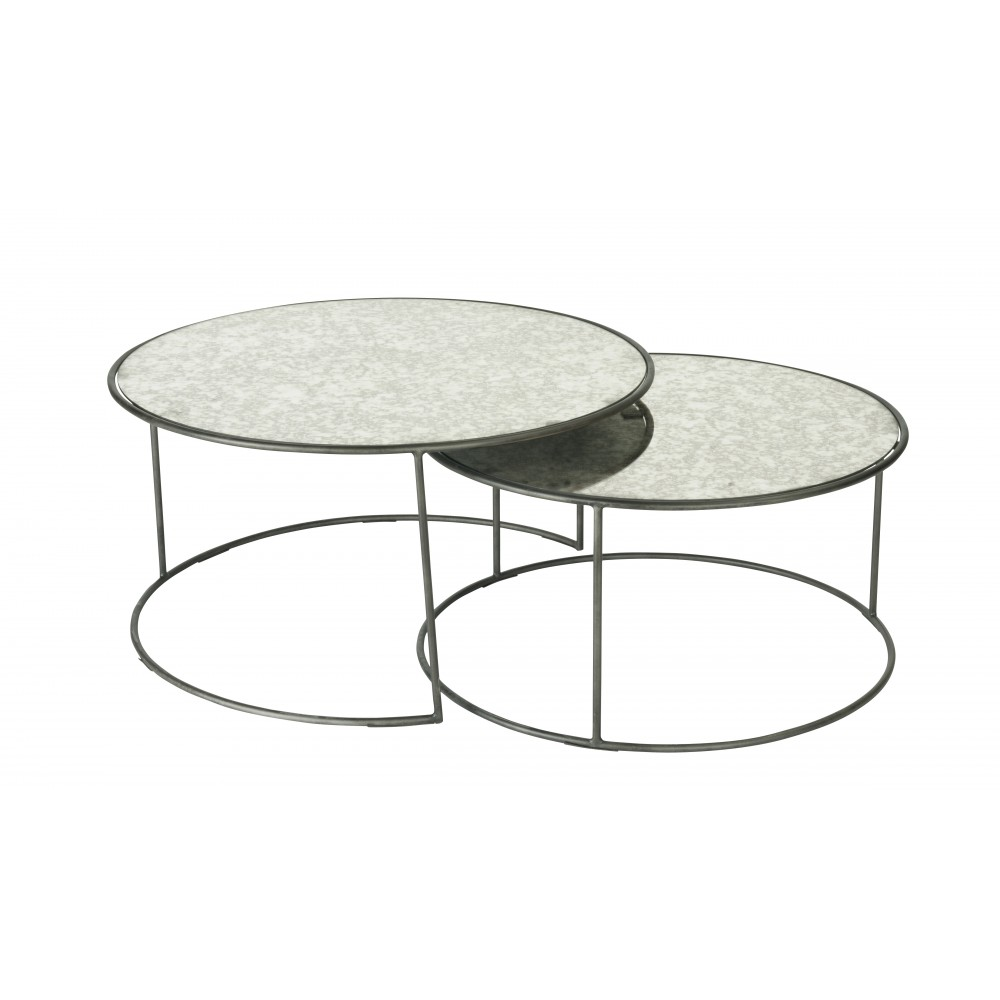 table basse ronde gigogne fold by ligne roset stylepark. Black Bedroom Furniture Sets. Home Design Ideas