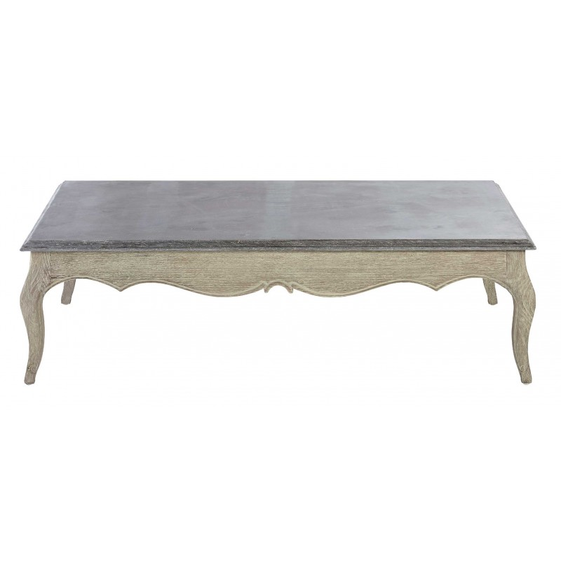 Table Basse Louis Xv Pietement Chene Brule Signature