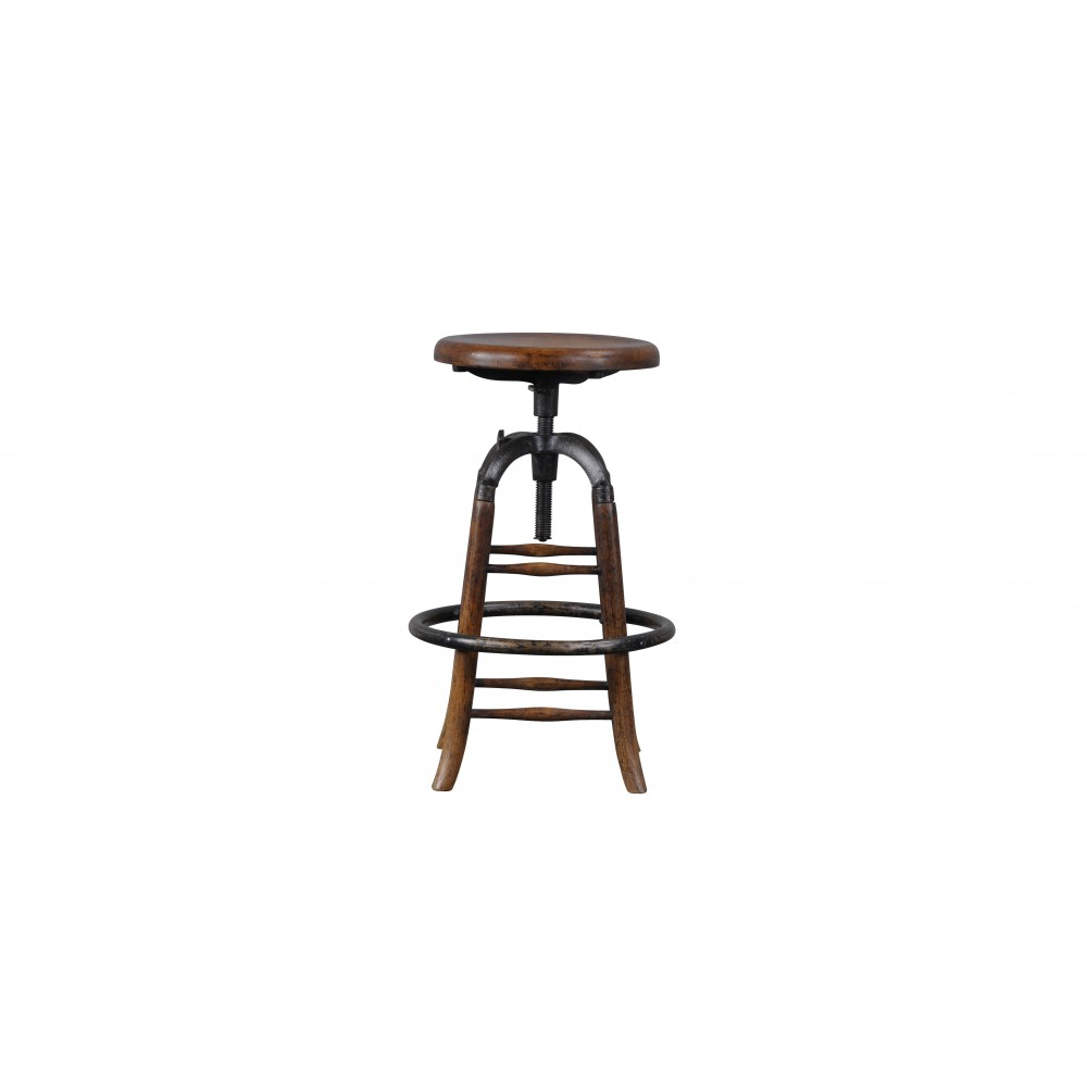 tabouret de bar bois signature. Black Bedroom Furniture Sets. Home Design Ideas
