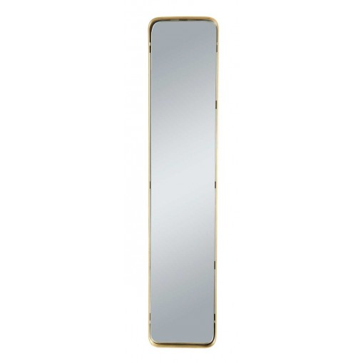 Lot 2 miroirs rectangulaire laiton