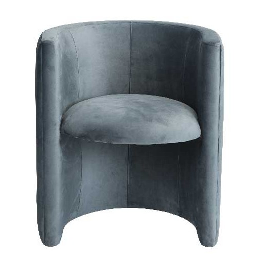 Fauteuil Night en velours