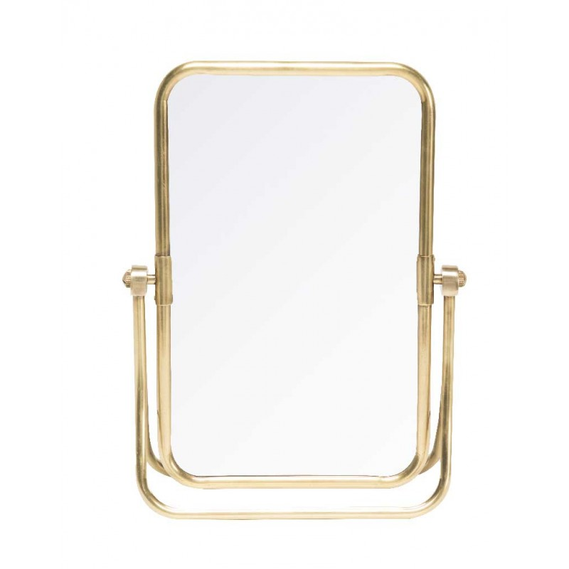 Miroir de table Laiton
