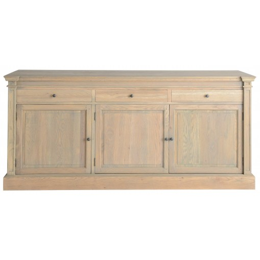 Buffet Haussmann - 2/3/4 doors + drawers - Oxyded Oak
