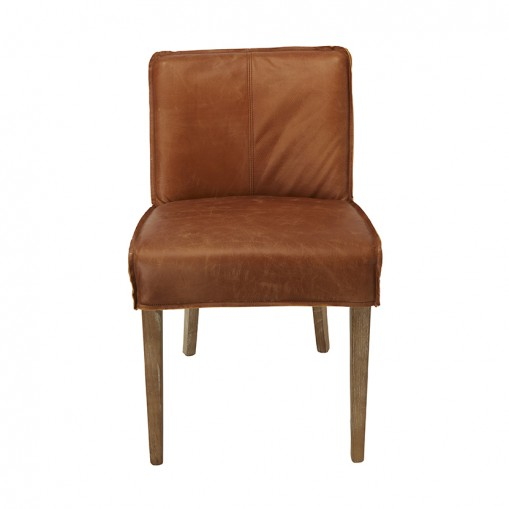 Emma chair - Leather - set by 2