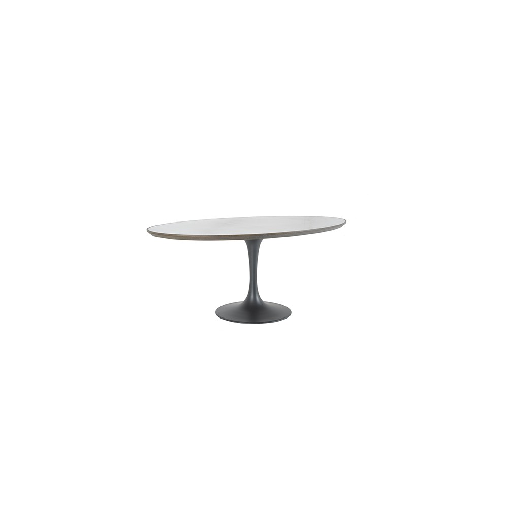 Tulipe oval table - Signature