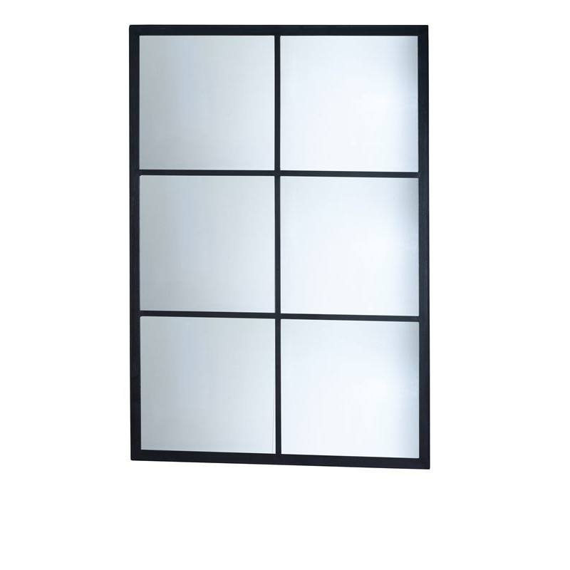 Miroir industriel rectangulaire carr en 100 signature for Miroir carre